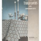 Vintage Crocheted Tablecloths And Luncheon Sets Book 179 Spool Cotton Company