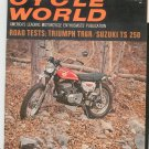 Vintage Cycle World Magazine March 1969 Triumph TR6R Suzuki TS 250  Not PDF
