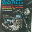 Vintage Cycle World Magazine October 1968 Triumph 750cc Suzuki 305 Honda CL175 Not PDF