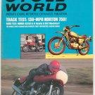 Vintage Cycle World Magazine December 1969 Norton 750 Honda SL350  Not PDF