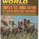 Vintage Cycle World Magazine August 1969 Honda 750 Four  Not PDF