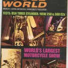 Vintage Cycle World Magazine July 1969 BSA New 250 & 360 CZs Show  Not PDF