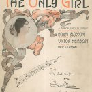 The Only Girl  Joe Webber Offers  Book With Lyrics Witmark