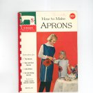 Singer How To Make Aprons 119 Vintage