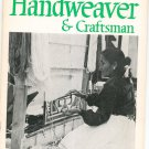 Vintage Handweaver & Craftsman Spring 1967 Volume 18 Number 2 Not PDF