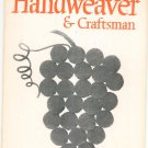 Vintage Handweaver & Craftsman Fall 1967 Volume 18 Number 4 Not PDF