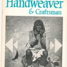 Vintage Handweaver & Craftsman Winter 1968 Volume 19 Number 1 Not PDF