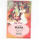 Vintage 1965 Advertising Liquor Party Book Santi Forestiere's Plaza Camillus New York