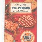 Betty Crocker's Pie Parade Cookbook Vintage 1957
