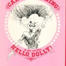 Carol Channing In The Original Hello Dolly Souvenir Program