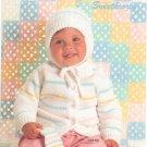 Bernat Handicrafter Sweetheart Baby Number 520 Crochet