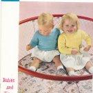 Babies And Tots Fashions Diamond Yarn Book 30 Knit