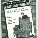 Fleischer Knitting Primer Volume 8 Sampler Afghan Not PDF