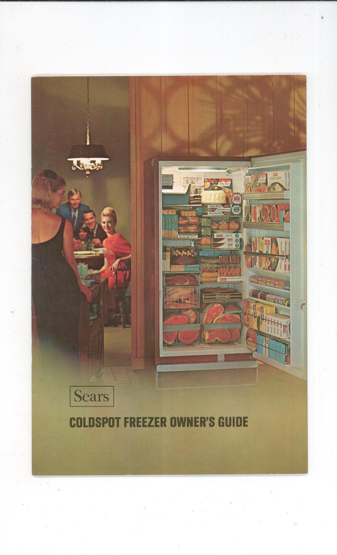 Sears Coldspot Freezer Manual 1700 & 2700 Series Not PDF