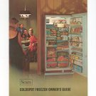 Sears Coldspot Freezer Manual 1700 & 2700 Series Not PDF