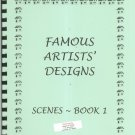 Famous Artists Designs Scenes Book 1