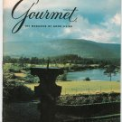 Gourmet The Magazine Of Good Living August 1972  Not PDF