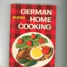 German Home Cooking Cookbook Dr. Oetker Revised English Speaking Special Issue