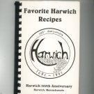 Favorite Harwich Recipes Cookbook 300th Anniversary Massachusetts