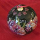 Vera Bradley 2012 Ornament With Box