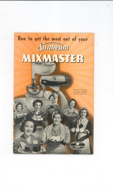 sunbeam mixmaster model 11 manual