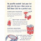 Vintage Ball Canning Jar Advertisement With Coupon 1960