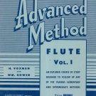 Rubank Advanced Method Flute With Boehm Chart Vintage
