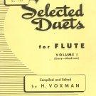 Selected Duets For Flute Volume 1 Number 177 Easy Medium Voxman