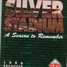 Silver Stadium A Season To Remember 1996 Rochester Red Wings Baseball Yearbook Year Book