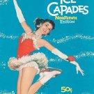 Souvenir Ice Capades Program 19th Edition Vintage John H. Harris
