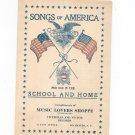 Songs Of America Arthur J. Mealand Advertising
