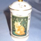 Lenox Ginger Cats Of Distinction Spice Jar Very Nice