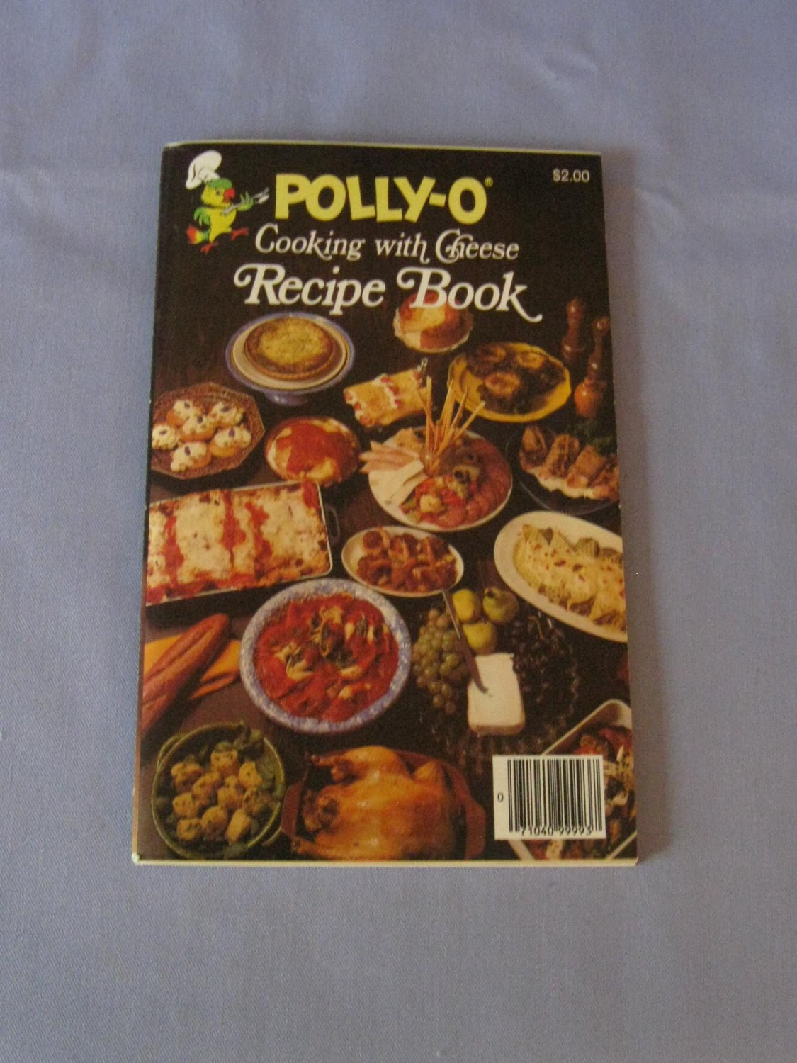Polly-O Cooking with Cheese Recipe Book ~ Vintage 1981 Cook Book