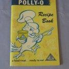 Polly-O Recipe Book Cooking With Cheese Cookbook PollyO  Polly O Vintage 1961