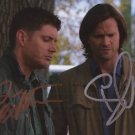Jared Padalecki / Jensen Ackles SUPERNATURAL signed 8x10