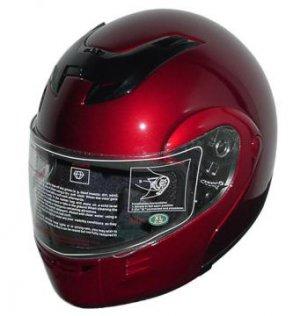 DOT Full Face Helmets Winebur Modular Motorbike Helmets