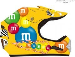M&M Licensed Motocross Helmets