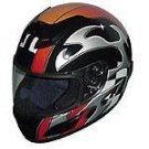 Full Face Racing Helmets - Black Blade