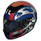 Full Face Racing Helmets - Blue Blade