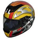 Full Face Racing Helmets - Yellow Blade