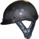 DOT Carbon Look Shorty Helmet Motorcycle