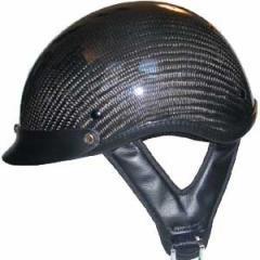 DOT Carbon Look Shorty Helmet Motorcycle
