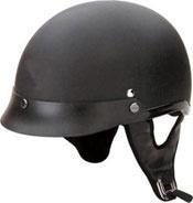DOT Flat Black Half Helmet Motorcycle BEANIE Helmets
