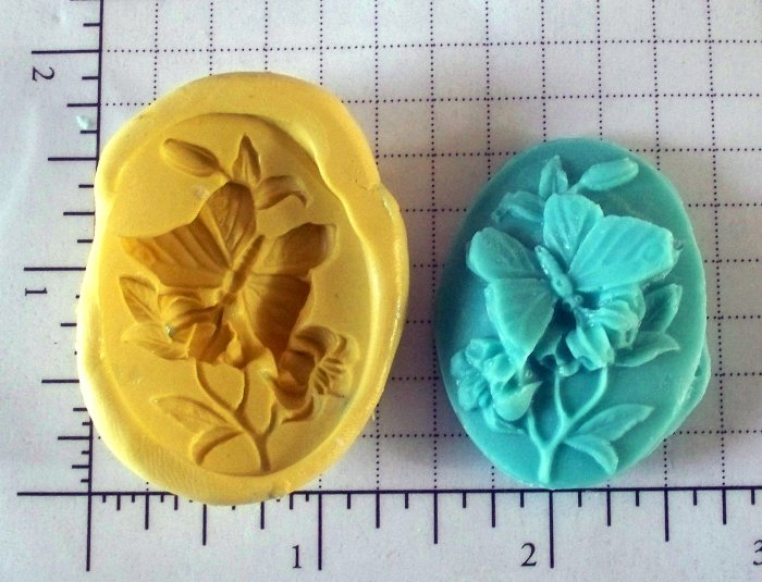 Butterfly Scene -  Silicone Mold
