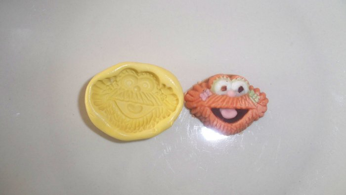 SS Monster-  Z0ie- Silicone Mold Candy Cake Cookies Crafts Clay