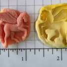 Pegasus- Winged Horse- Silicone Mold Soap Candy Plaster Cake Resin