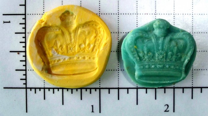 Crown -  Silicone Mold