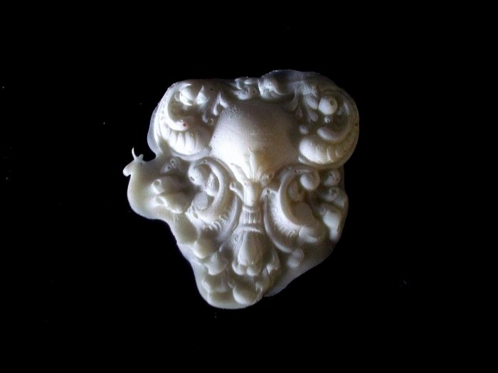 Victorian Filigree Heart-  Silicone Mold