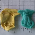 Lil Monster  - Silicone Mold Soap Candy Plaster Cake Resin