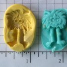 Hair ball Monster  - Silicone Mold Soap Candy Plaster Cake Resin